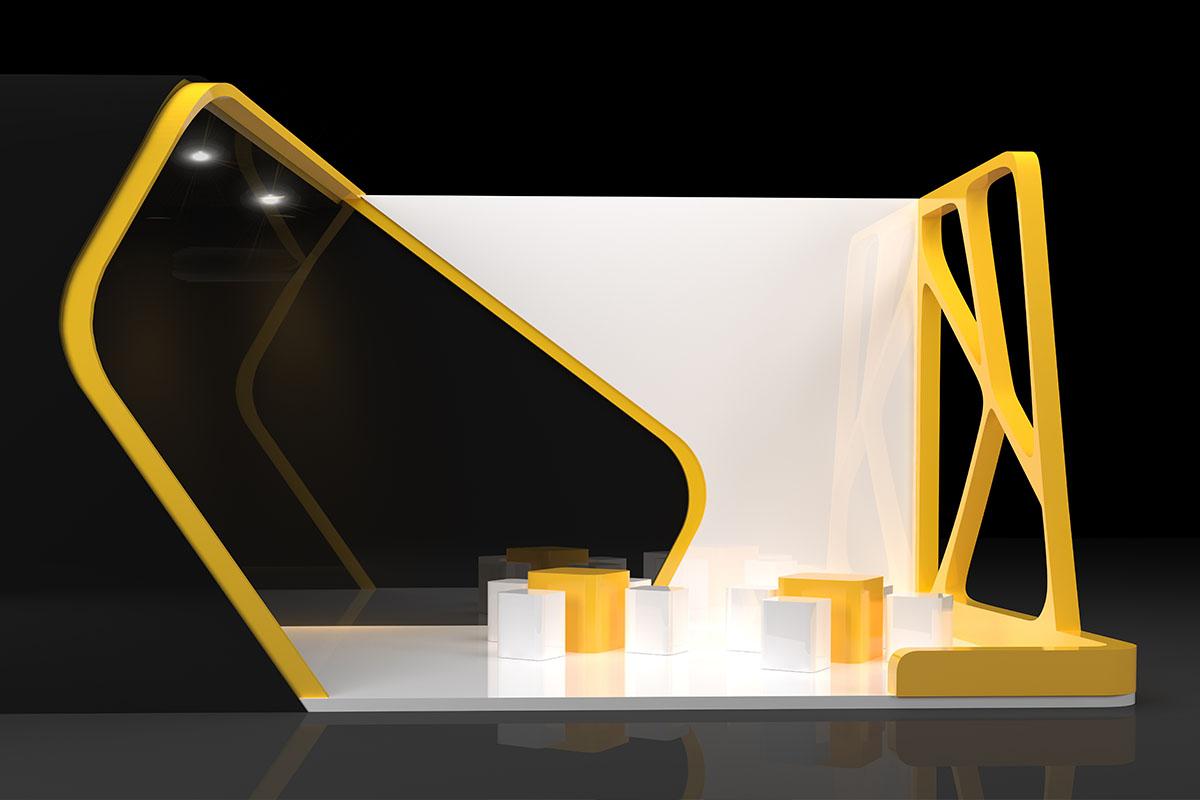 Diseño de stand de exposición