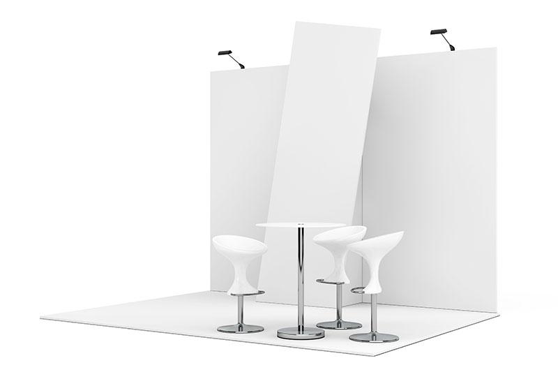 Stand minimalista