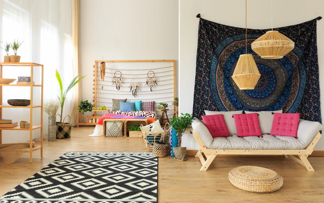 Consejos básicos para decorar tu habitación: Boho Chic