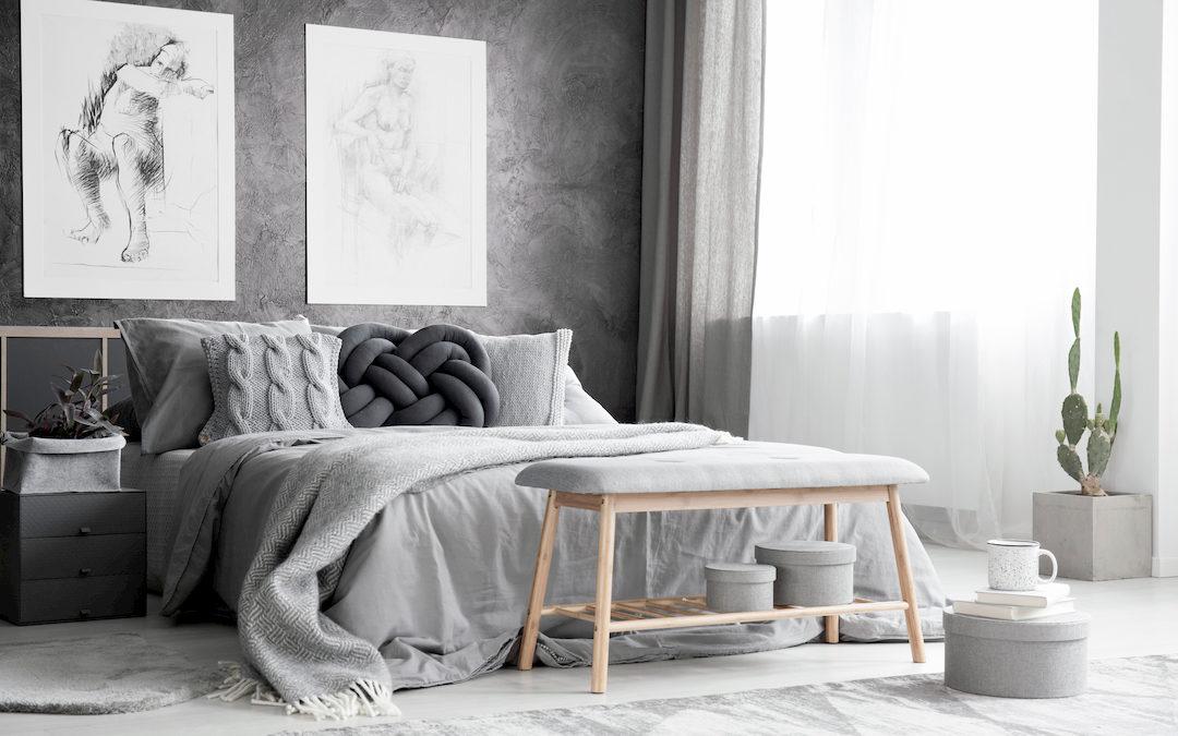 Consejos básicos para decorar tu habitación Estilo Moderno