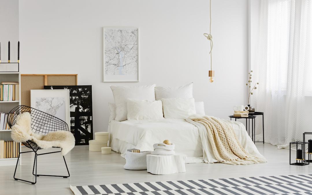 Consejos básicos para decorar tu habitación: Estilo Nórdico